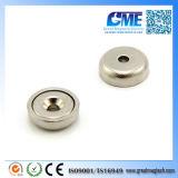 High Quality N42 D16X5mmxm3 Neodymium Pot Magnet