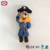 Pirate Captain with Hook Hand Single Eye Toy Stuffed Doll