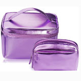 Shiny PU Cosmetic Pouch for Makeup