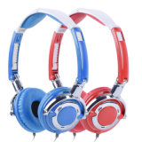 Stylish Foldable Multimedia Headphones with Different Colors