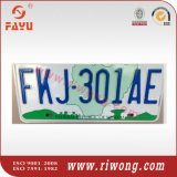 Nigeria Car Number Plate