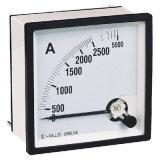 Analog Panel Meter Moving Iron AC Ammeter