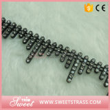 Shoe Accessory Black Style Fringe Trimming Tape