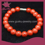 Tourmaline Beads Bracelet Jewelry (2015 Tmb-089)