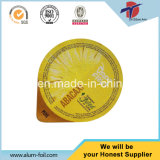Heat Resistance Printed and Embossed Aluminium Foil Lids