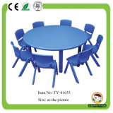 Kids Plastic Round Table and Chairs
