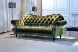 Neo-Classical Sofa Furniture Wooden Fabric Sofa (LS-121-C)