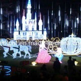 LED Xmas Decorative Light Park Castle for Square Decoration