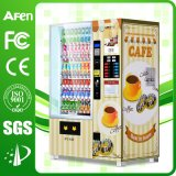 Max 70 Selection Beverage & Coffee Automatic Vending Machine with Touch Screen Media