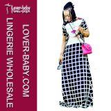 Summer Woman Wear Printed Long Dress (L51328)