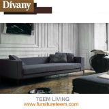 Fabric Leather Modern Style Sofa