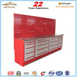 20 Drawer Steel Tool Cabinet Workbench with Wooden Top