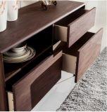 MDF with Walnut Wood Veneer Dining Cabinet&Sideboard (SC001)
