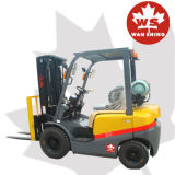 2000kg Gas/LPG Forklift Truck for Sale with Japan Nissan Engine
