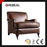 Orizeal High End Living Room Furniture Barclay Leather Chair (OZ-LS-2001)