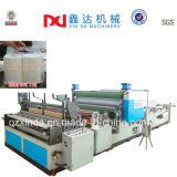 Automatic Perforated Toilet Paper Equipment Embossed Rewinding Kitchen Towel Machine