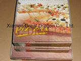 White Exterior and Natural/Kraft Interior Pizza Box (CCB1602)