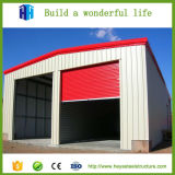 Algeria Prefab Steel Industrial Warehouse Garage Shed China Supplier