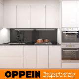 Australia Apartment White Modern Wooden HPL Kitchen Home Furniture (OP15-HS5)