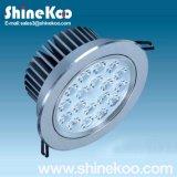 18W Aluminium LED Downlight Luminaire (SUN10-18W)