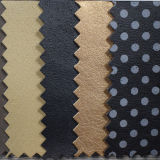 Pigskin Grain Synthetic PU Leather for Shoe Lining (HST029)