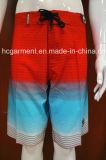 Colorful Strip Surf Short Swimwear Beachwear for Men/Women