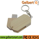 Best Price Swivel Wooden USB Flash Drive