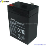 6V4.5ah Sealed Lead Acid AGM Battery for Security and Alarm