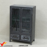 Top Quality Retro Antique Metal Floor Cabinet