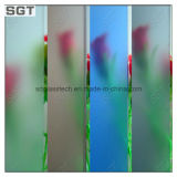 3mm-12mm Acid Etched Frosted Glass with Ce SGS