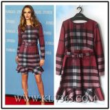 Latest Dress Design Women Fashion Long Sleeve Winter Cocktail Dress Wholesale
