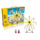 6732011-Amusement Park Ferris Wheel Style Electric Building Block