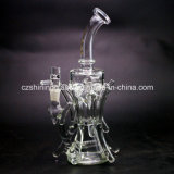 Best Selling Black Color Glass Recycler Water Pipe Czs043