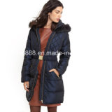 Women Best Quality Long Fitted Padded Jacket