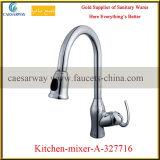 Brass Deck Mounted Kitchen Water Mixer