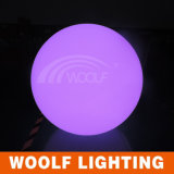 Plastic Color Changeable LED Ball Floor Lamp
