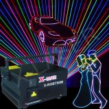 Stage Laser Projector RGB Multicolor Animation Show
