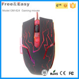 6D Ergonomic Gaming Mouse with Shining LED Show