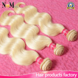 DIY Hair Extensions Weft Brazilian Blonde Color Human Hair