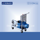 Ss 316 Mobile Rotor Pump, Lobe Pump, Food Grade Pump