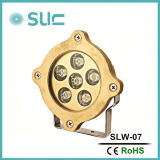 6*3W RGB LED Swimming Pool Light/ Mini Underwater LED Marine Light Underwater Fishing Light