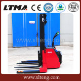 Warehouse Equipment 1.5 Ton Electric Pallet Stacker with Wide Legs