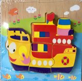 Hot Sale Children 3D DIY Creative Handcraft Wooden Puzzle