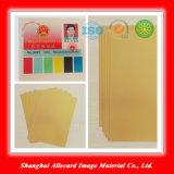 Gold Color Inkjet Printable PVC Plastic Sheet