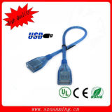 Anti-Interference USB a Male to USB a Female Connection Cable - Blue