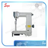 Xs0406 Double Needle Driven Roller Presser Post-Bed Lockstitch Sewing Machine