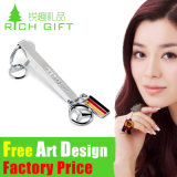 Wholesale High Quality Personalized Country Flag Logo Projector Keyring