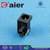 SGS Black 3pin 2.1/2.5mm DC Power Jack