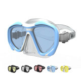 2015 New Product Tempered Glass Diving Mask and Scuba Diving Equipment with PC Frame