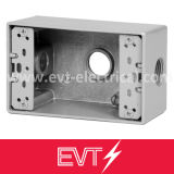 "3/4"" UL Standard Aluminum Round Weatherproof Box"
